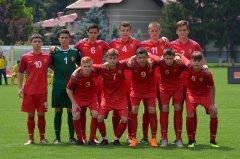 Уступили сборной Румынии