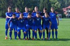 Контрольный спарринг Молдовы Under-17