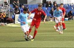 Два забитых мяча от сборной грузии