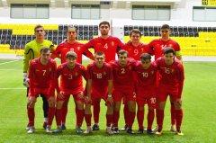 Игра за юношескую сборную Молдовы