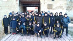 Тимбилдинг в Бендерской крепости