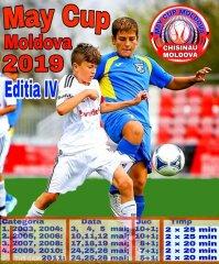 Второе и третье место на MAY CUP Moldova 2019